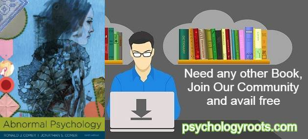 Abnormal Psychology by Ronald J. Comer 10th Edition