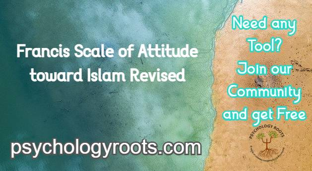 Francis Scale of Attitude toward Islam Revised