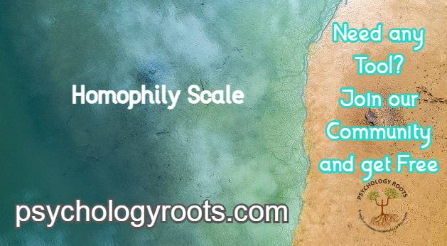 Homophily Scale