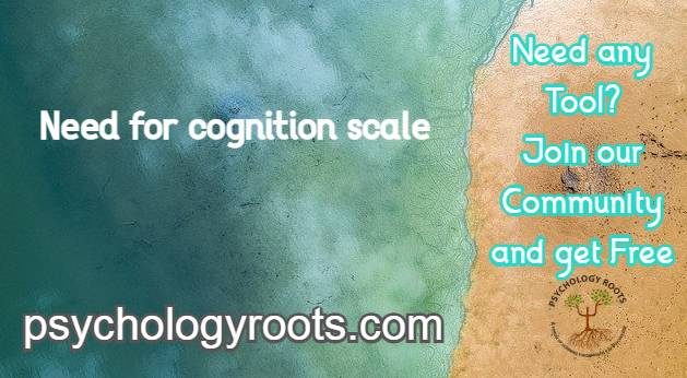 Need for cognition scale