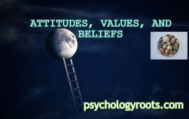ATTITUDES, VALUES, AND BELIEFS