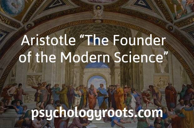 """Aristotle """"The Founder of the Modern Science"""""""