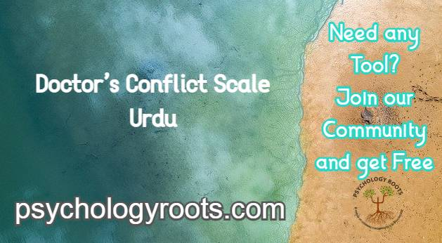 Doctor's Conflict Scale Urdu
