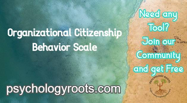 Organizational Citizenship Behavior Scale