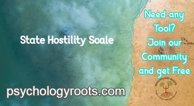 State Hostility Scale
