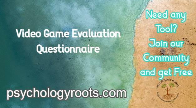 Video Game Evaluation Questionnaire