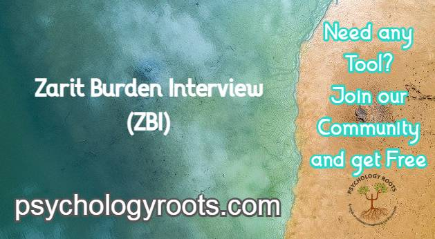 Zarit Burden Interview (ZBI)