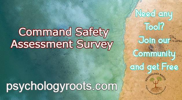 Command Safety Assessment Survey