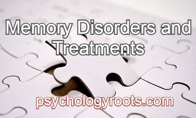 Memory Disorders and Treatments