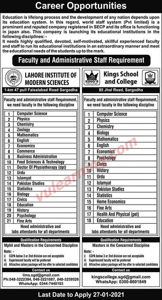 Psychology Faculty Jobs Jan 2021