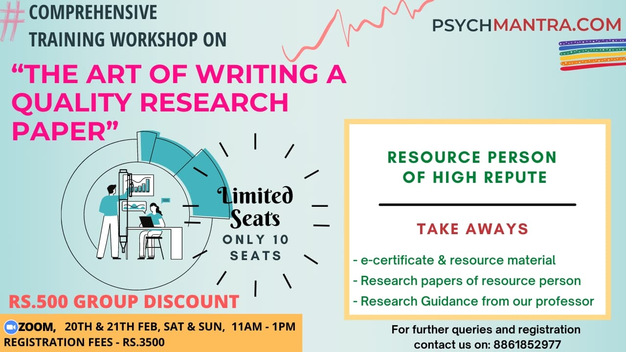 The Art of Writing a Quality Research Paper