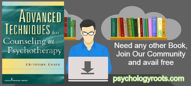 Advanced Techniques for Counseling and Psychotherapy by Dr. Christian Conte