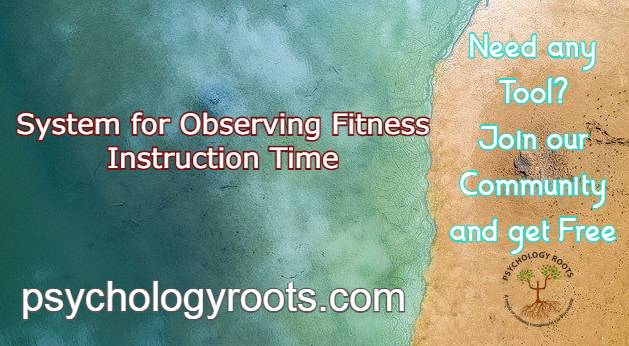 System for Observing Fitness Instruction Time