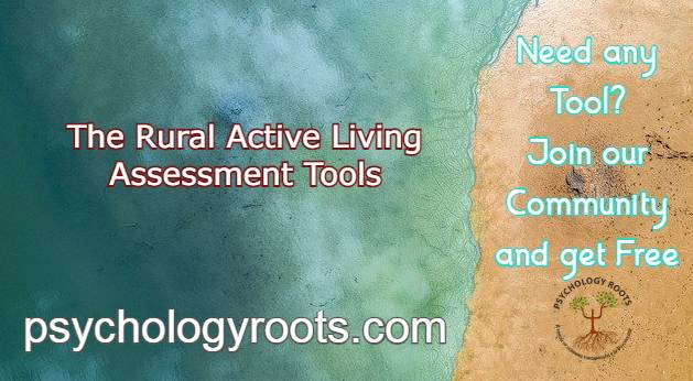 The Rural Active Living Assessment Tools