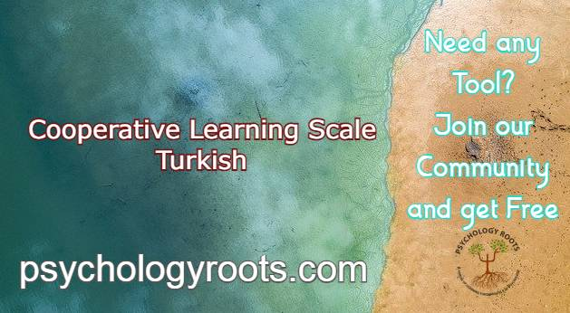 Cooperative Learning Scale Turkish