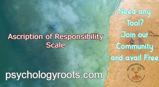 Ascription of Responsibility Scale