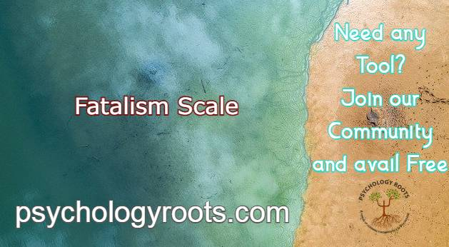 Fatalism Scale