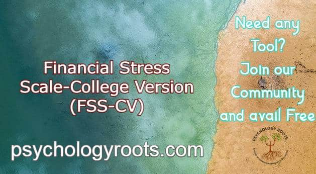 Financial Stress Scale - College Version
