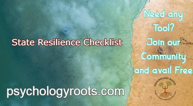State Resilience Checklist