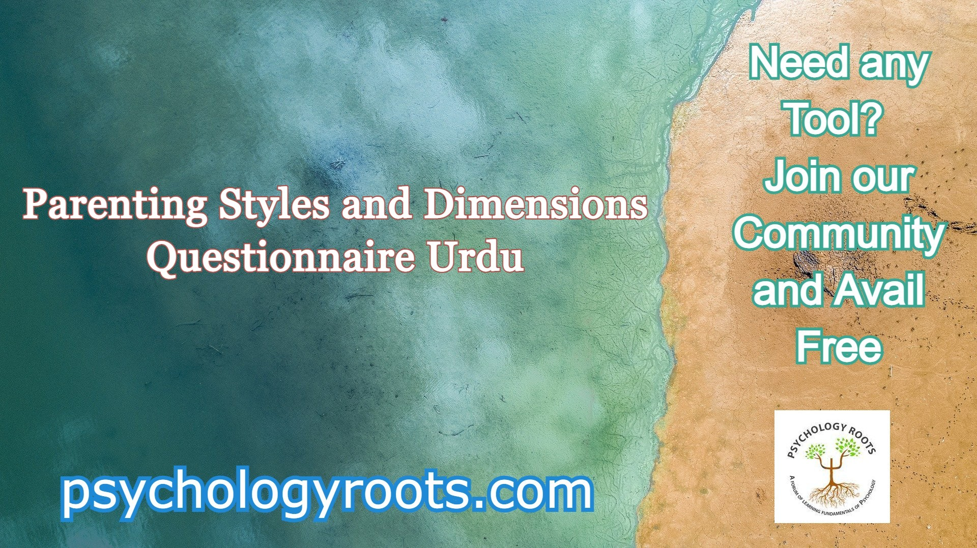 Parenting Styles and Dimensions Questionnaire Urdu