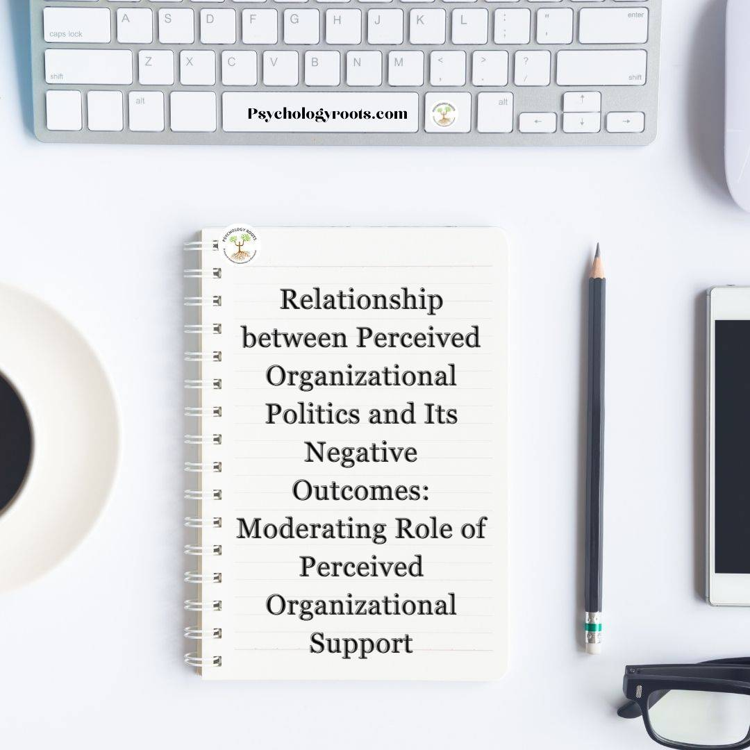Relationship between Perceived Organizational Politics and Its Negative Outcomes: Moderating Role of Perceived Organizational Support