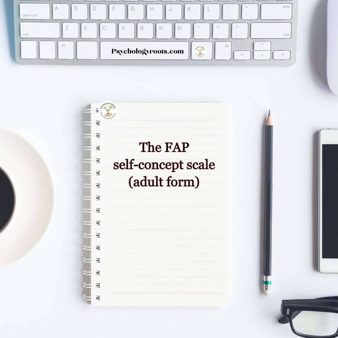 The FAP self-concept scale (adult form)