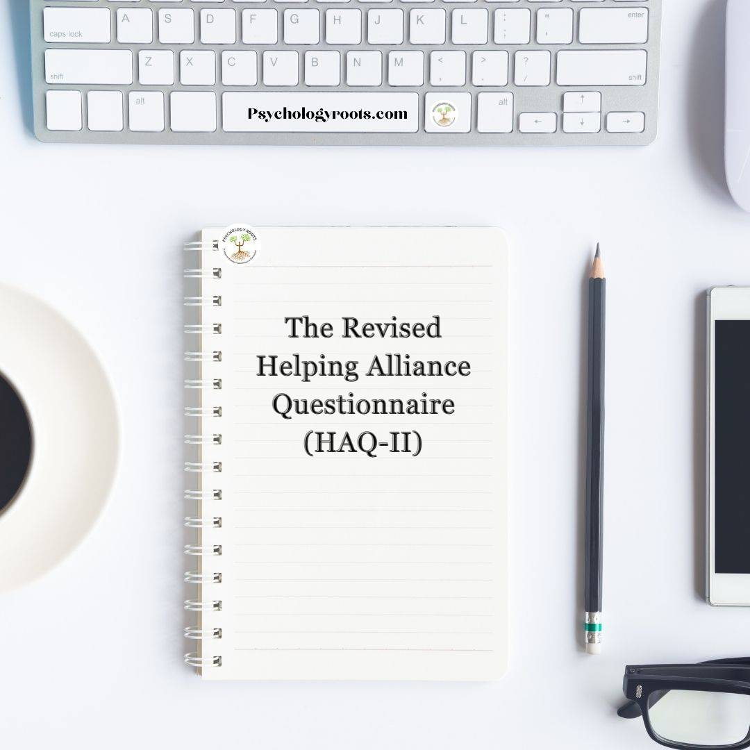 The Revised Helping Alliance Questionnaire (HAQ-II)