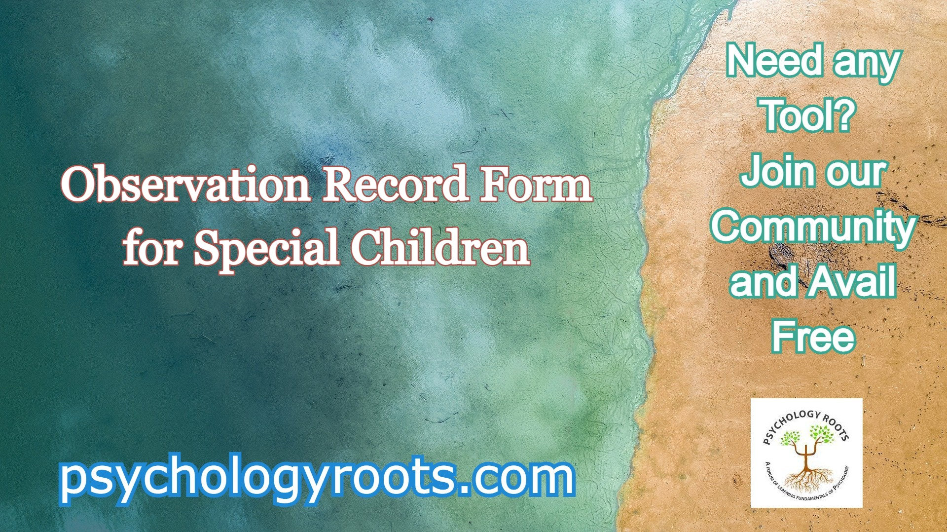 Observation Record Form for Special Children