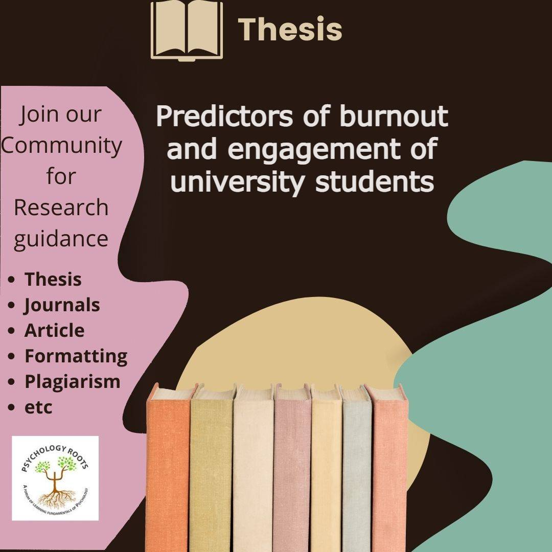 Predictors of burnout and engagement of university students