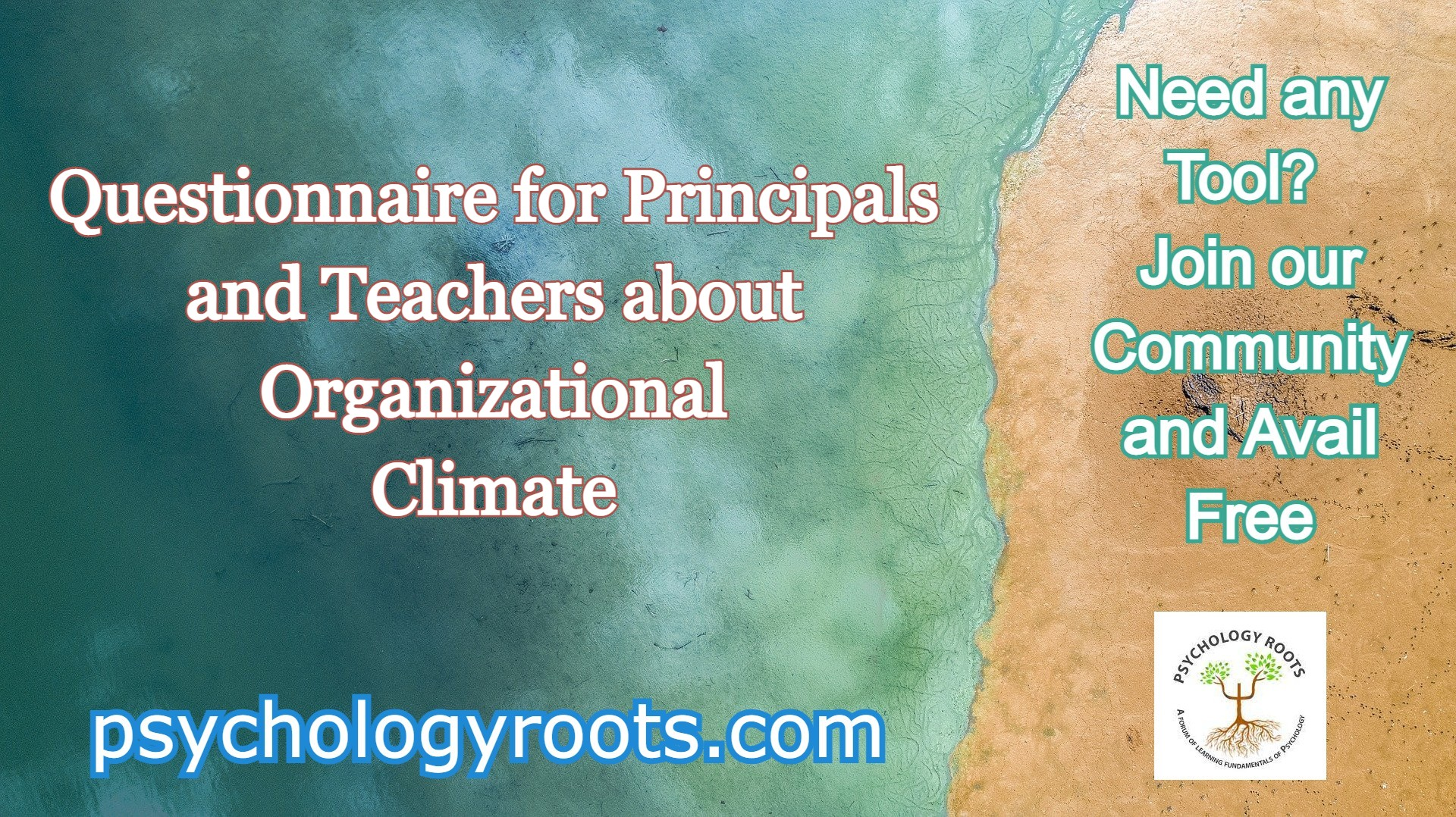 Questionnaire for Principals and Teachers about Organizational Climate