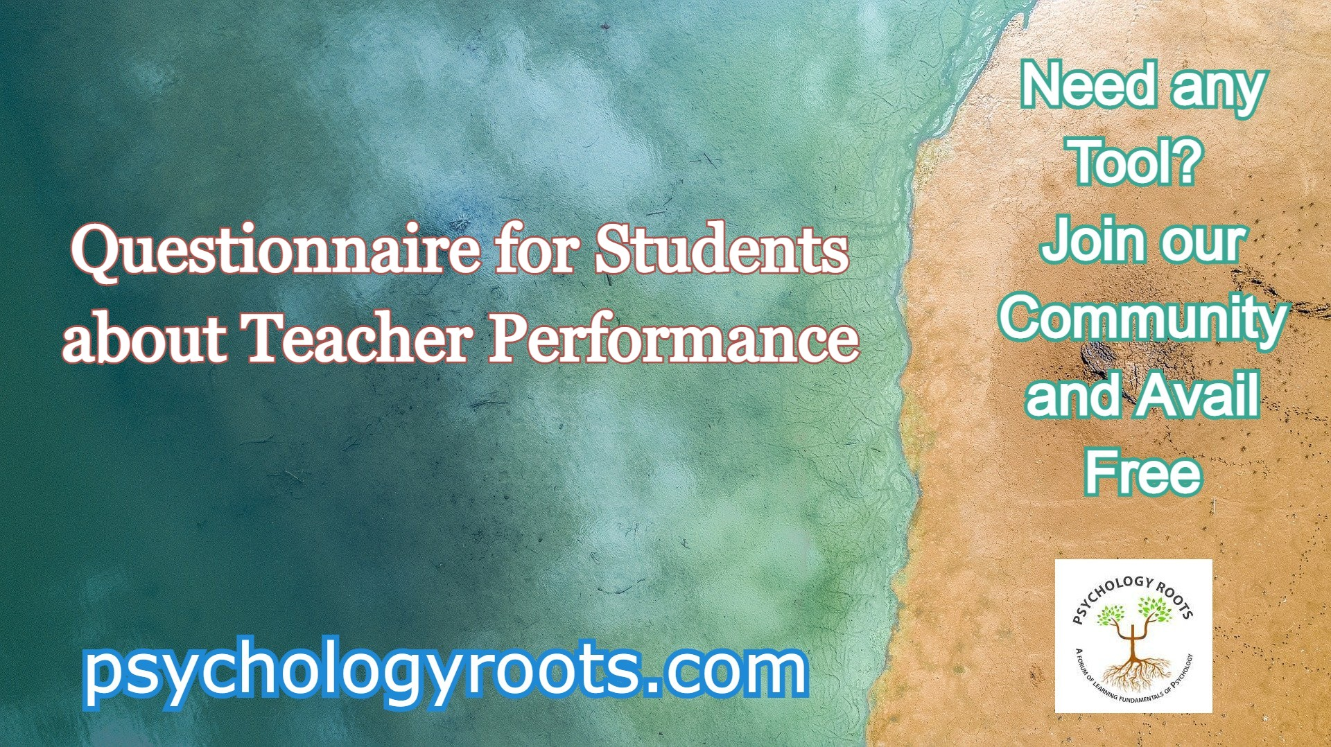 Questionnaire for Students about Teacher Performance