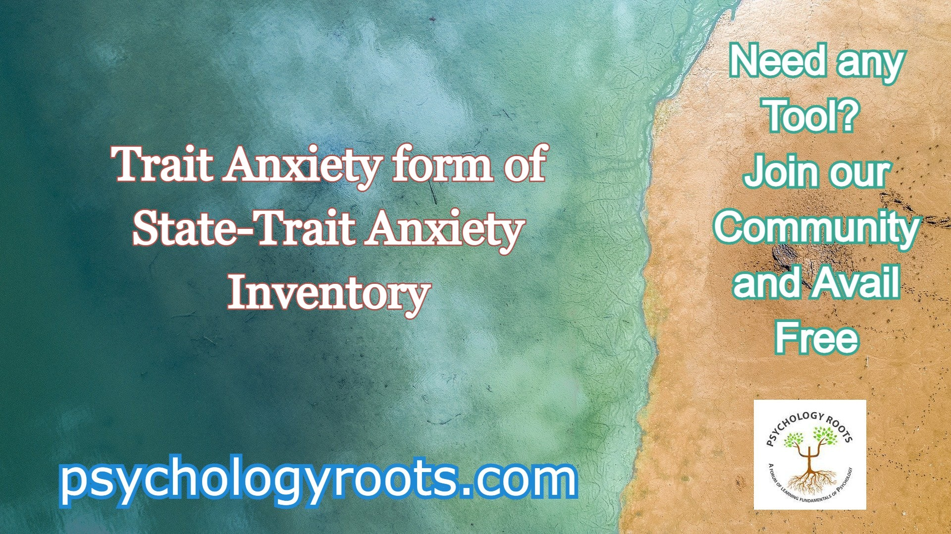 Trait Anxiety form of State-Trait Anxiety Inventory